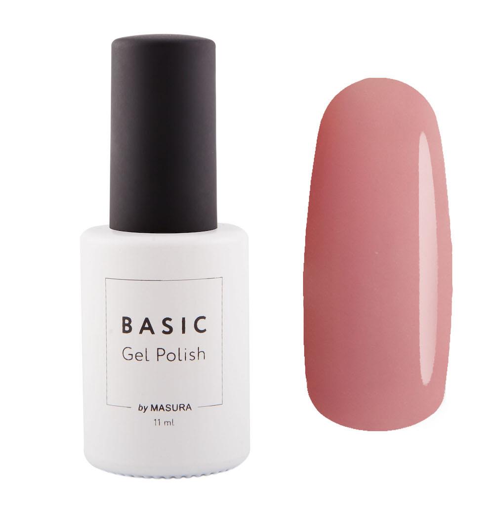 Masura Гель-лак BASIC Естественная Красота, 11 млCRS-80273547полупрозрачный с насыщенным розовым оттенком