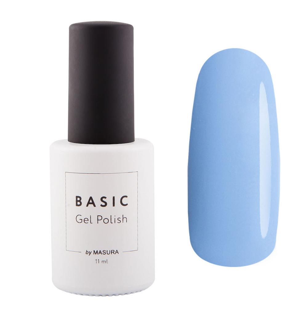 Masura Гель-лак BASIC Ляпис Синий, 11 мл294-316ляпис синий цвет, плотный