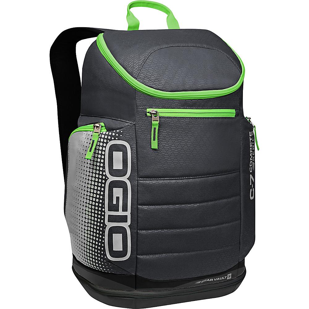 Рюкзак городской OGIO Active. C7 Sport Pack (A/S), цвет: черный, салатовый. 031652226821187250Классическая компоновка с одним вместительным отделением и несколькими небольшими карманами вместе с удобной посадкой рюкзака и есть идеал. Это потенциально, Ваш любимый рюкзак, остается только приобрести его.
