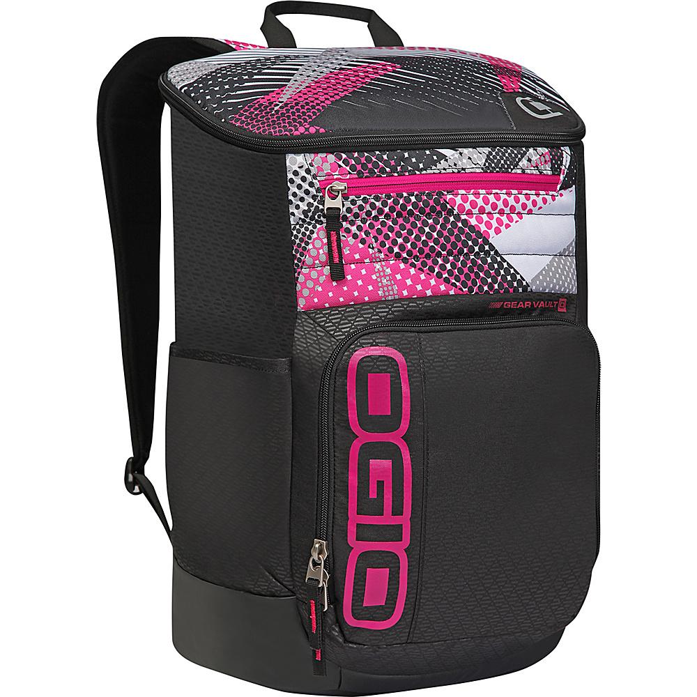 Рюкзак городской OGIO Active. C4 Sport Pack (A/S), цвет: черный, фуксия. 031652226913031652226913Удобнейший рюкзак для занятий спортом с огромным основным отделением и несколькими внешними карманами. Туда поместится экипировка практически для любого вида спорта. Вам он точно понравится.