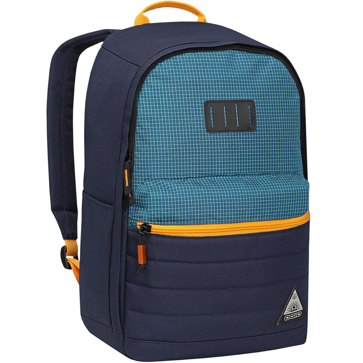 Рюкзак городской OGIO Urban. Lewis Pack (A/S), цвет: синий, желтый. 031652226951ЛЦ0036Компактный, но при этом достаточно вместительный рюкзак от Ogio. Имеется специализированный отсек для ноутбука а также уплотненный карман для ценных вещей на молнии. Внешний передний и боковой карманы на вертикальной молнии обеспечивают быстрый доступ к содержимому, позволяя всегда держать необходимые аксессуары и документы поблизости.