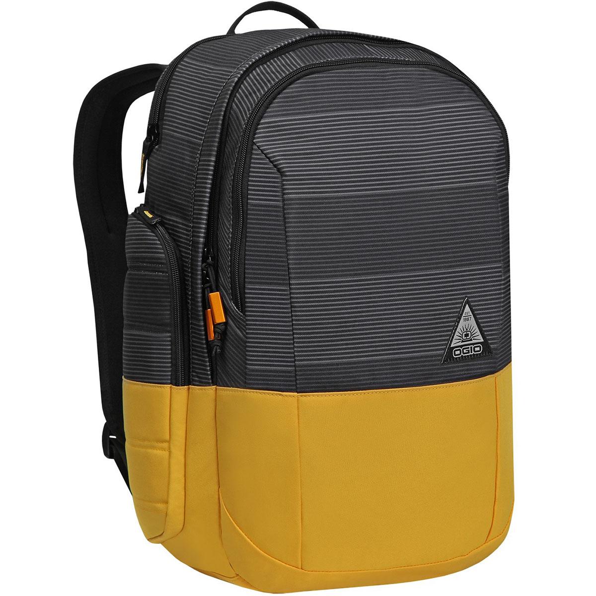 Рюкзак городской OGIO Urban. Clark Pack (A/S), цвет: горчичный, серый. 031652227002BACKPACK-KEDSСтильный и в то же время функциональный рюкзак от Ogio. Имеются специализированные отсеки для ноутбука и планшета, которые позволят Вам не переживать за сохранность техники. Большое основное отделение вместит все необходимые вещи, а внешние боковые карманы на молнии помогут всегда держать необходимые аксессуары поблизости.