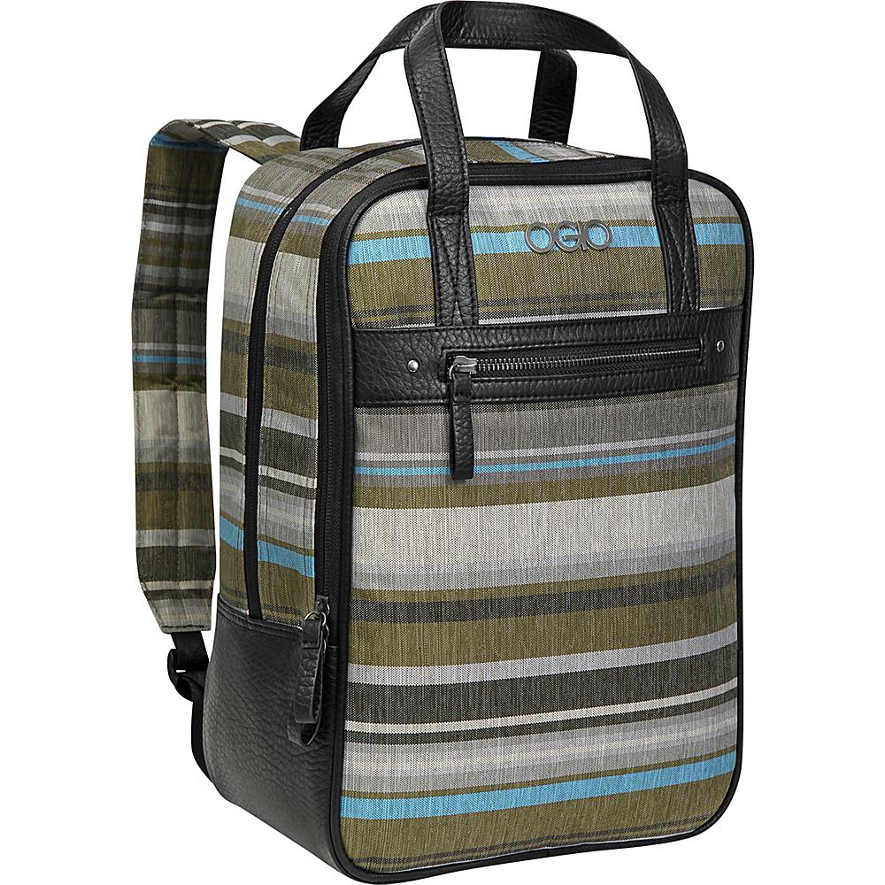 Рюкзак городской OGIO Active. Sophia Pack (A/S), цвет: серый, черный. 031652227491031652227491OGIO SOPHIA Стильный и вместительный женский рюкзак . Основное отделение содержит отделение для ноутбука и планшета, карманы-органайзеры и карман на молнии.