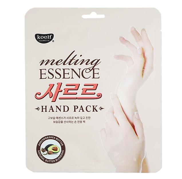 Koelf Маска-перчатки для рук смягчающая Melting essence hand pack, 14 гр 803343