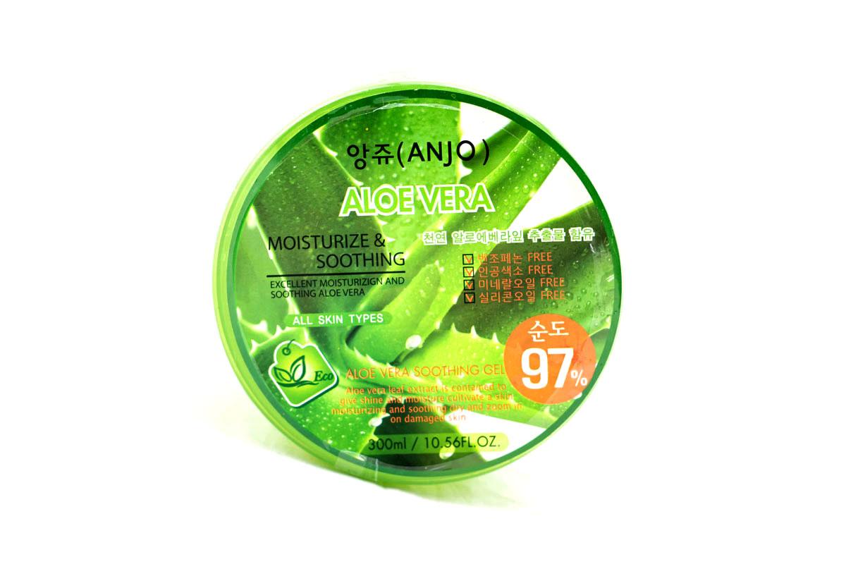 Anjо Professional Гель для тела с высоким содержанием сока алоэ-вера 97% , 300 мл342649