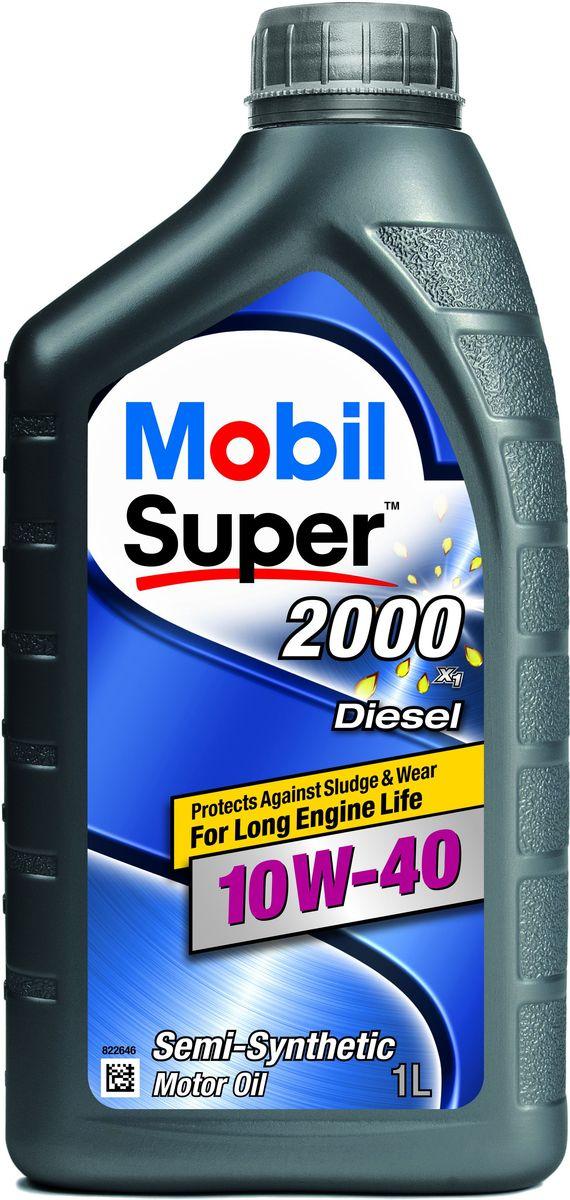 Масло моторное Mobil Super 2000 X1 Diesel GSP, класс вязкости 10W-40, 1 л152049Mobil Super 2000 X1 Diesel GSP - это полусинтетическое моторное масло, обеспечивающее более длительный срок эксплуатации двигателя и защиту от отложений шлама и износа. Масла Mobil Super 2000 X1 Diesel GSP разработаны таким образом, чтобы предоставить дополнительный уровень защиты по сравнению с минеральными маслами. ExxonMobil рекомендует применять Mobil Super 2000 X1 Diesel GSPl, когда время от времени могут сложиться затрудненные условия вождения, в: - двигателях более ранних разработок и конструкций; - бензиновых и дизельных двигателях без дизельных сажевых фильтров (DPF); - в легковых автомобилях, внедорожниках, малотоннажных грузовиках и микроавтобусах; - при вождении в загородных и городских условиях; - двигателях с повышенными рабочими характеристиками; - при обычных условиях эксплуатации и при движении с перегрузками. Товар сертифицирован.
