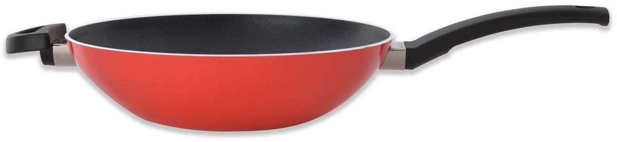 Сковорода BergHOFF Eclipse, 3,2 л, 28 см, цвет: красный. 37001183700118