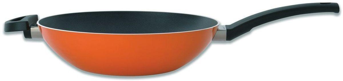 Сковорода-вок BergHOFF Eclipse, 3,2 л, 28 см, цвет: оранжевый. 37001623700162