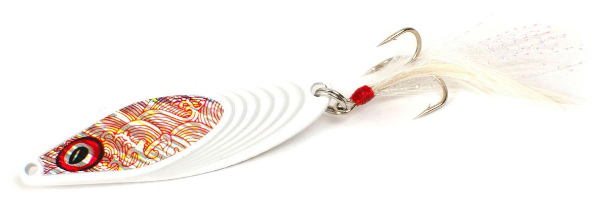 Блесна Yoshi Onyx Yalu Nose, цвет: белый, 21 г95695Блесна Yoshi Onyx Yalu Nose имеет уникальную геометрию, что открывает бесконечный простор для творчества. Возможны практически любые анимации. Ритмичная размеренная пульсация, на скоростной прямой проводке, имитирует убегающую в панике рыбку, хаотическое качание из стороны в сторону, на рывковой ступенчатой проводке, напоминают деловитую суету, кормящегося малька, а нервный трепет, при свободном падении, довольно точно, воспроизводит движения резвящейся в толще воды молоди.