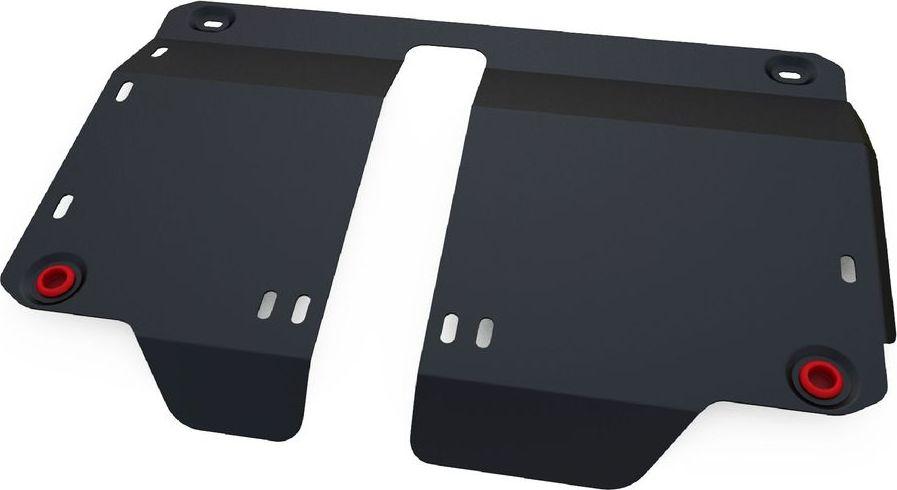 Защита картера и КПП Автоброня, для FAW V2 2012-, сталь 1,8 мм, комплект крепежа111.08004.1Защита картера и КПП Автоброня FAW V2, V-1,3 2012-, сталь 1,8 мм, комплект крепежа, 111.08004.1 Стальные защиты двигателя и других элементов Автоброня Надежно защищают Ваш автомобиль от повреждений при наезде на бордюры, выступающие канализационные люки, кромки поврежденного асфальта или при ремонте дорог, не говоря уже о загородных дорогах. - Имеют оптимальное соотношение цена-качество. - Спроектированы с учетом особенностей автомобиля, что делает установку удобной. - Защита устанавливается в штатные места кузова автомобиля. - Является надежной защитой для важных элементов на протяжении долгих лет. - Глубокий штамп дополнительно усиливает конструкцию защиты. - Подштамповка в местах крепления защищает крепеж от срезания. - Технологические отверстия там, где они необходимы для смены масла и слива воды, оборудованные заглушками, надежно закрепленными на защите. Толщина стали: 2 мм. В комплекте набор крепежа и...