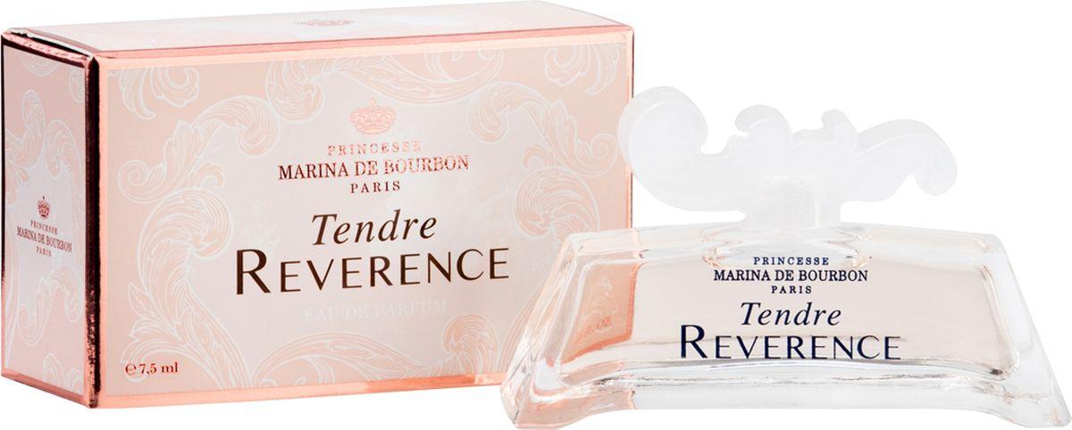 Princesse Marina De Bourbon Paris Tendre Reverence Миниатюра парфюмерная вода 7,5 мл1495CMBФЛАКОН: Tendre Reverence – вступление в уникальную чарующую вселенную. Выполненный в стиле комплекса в Версале, главного фамильного дворца, аромат Tendre Reverence пробуждает ощущения мягкой сладости жизни, наполненной историей и воспоминаниями. Парфюм отражает богатство и элегантность вселенной принцессы, а ароматы, созданные ею, воплощают мир гармони, спокойствия и нежности ее снов. Несколько прикосновений этого аромата перенесут вас сквозь время. Потрясающая эпоха, синоним сладости, изысканной деликатности и женственности, выраженных с помощью аромата. АРОМАТ: Утонченный, сладкий и изысканный Tendre Reverence это сказочный букет, олицетворяющий женственную красавицу, сохранившую свою молодость и романтичность. Волна свежести встречается с цветочными нотами в этом новом Цветочный-фруктовом аромате. Tendre Reverence раскрывает аромат, наполненный эмоциями и чувственностью. Парфюм обладает мягким и одновременно искрящимся сладким характером, излучает женственность и удивляет;...