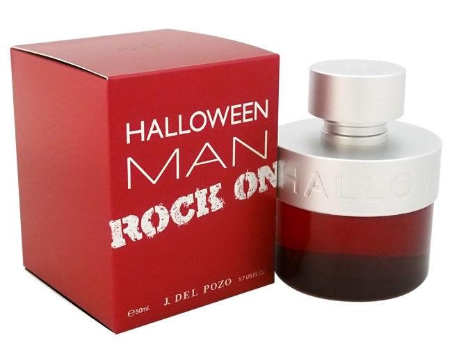 Halloween Man Rock On Туалетная вода 50 млперфорационные unisexНовая версия Halloween MAN выполнена в насыщенно красном и матовом алюминиевом цветах.