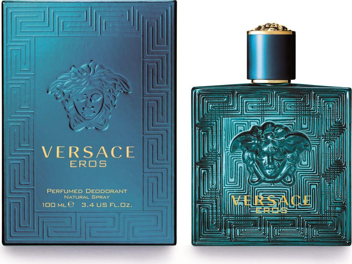 Versace Eros Парфюмированный дезодорант спрей 100 мл 740020