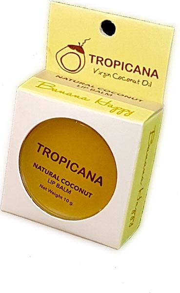 Бальзам для губ Банановое счастье Tropicana, 10 грБ33041Обогащенный органическим кокосовым маслом холодного отжима, экстрактом банана и маслом ши. Препятствует образованию микро-трещинок на обветренных губах. Сочетание витаминов С и Е это мощный антиоксидант, делает губы гладкими и мягкими. Зрительно увеличивает губ. Спасает от ожогов на солнце, а также ухаживает и увлажняет в зимний период. С приятным ароматом банана. Не содержит в себе отдушек и химических добавок.