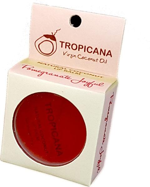 Бальзам для губ Радостный гранат Tropicana, 10 грA17049/07Обогащенный органическим кокосовым маслом холодного отжима, маслом семян граната и маслом ши. Препятствует образованию микро-трещинок на обветренных губах. Сочетание витаминов С и Е это мощный антиоксидант, делает губы гладкими и мягкими. Зрительно увеличивает губ. Спасает от ожогов на солнце, а также ухаживает и увлажняет в зимний период. Со сладким ароматом граната. Не содержит в себе отдушек и химических добавок.