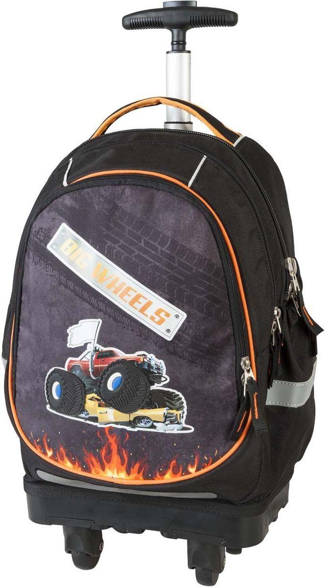 Target Collection Ранец школьный-тележка Большие колеса
