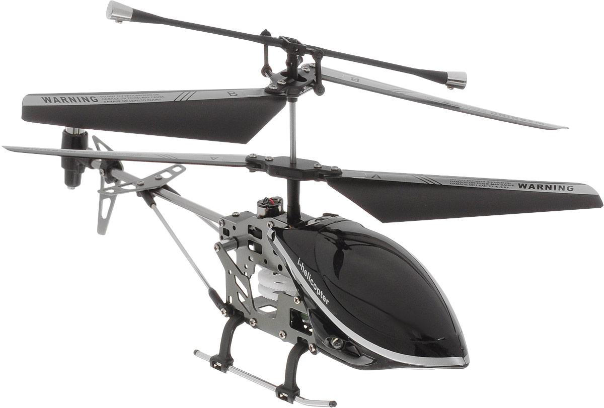 HappyCow Вертолет на инфракрасном управлении I-Helicopter цвет черный 19 см
