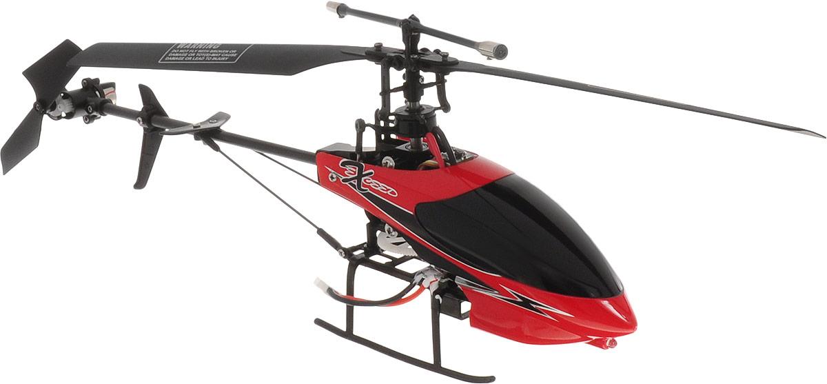 HappyCow Вертолет на радиоуправлении I-Helicopter цвет красный черный