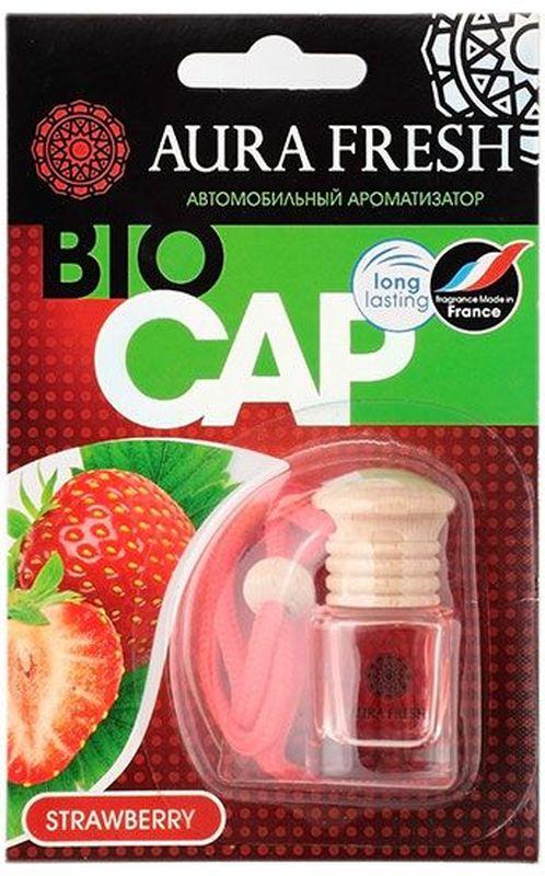 Ароматизатор автомобильный Aura Fresh Bio Cap. StrawberryAUR-BC-00013