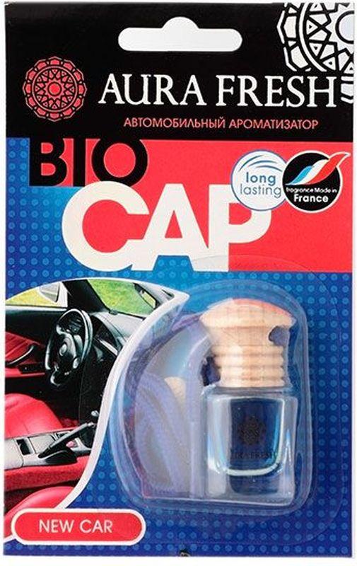 Ароматизатор автомобильный Aura Fresh Bio Cap. New CarAUR-BC-00014