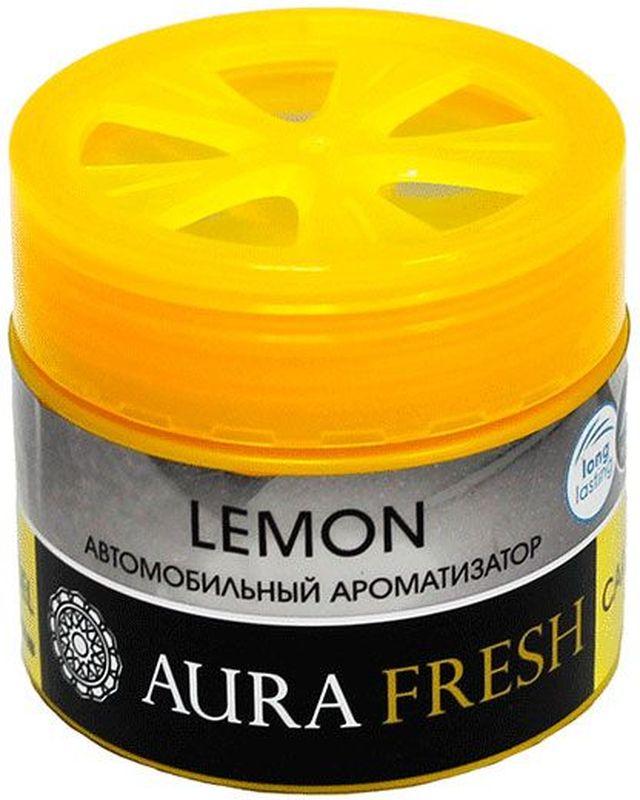 Ароматизатор автомобильный Aura Fresh Lemon, на панельAUR-CG-0006