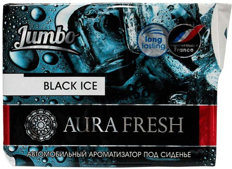 Ароматизатор автомобильный Aura Fresh Jumbo. Black Ice, под сидениеAUR-J-0002