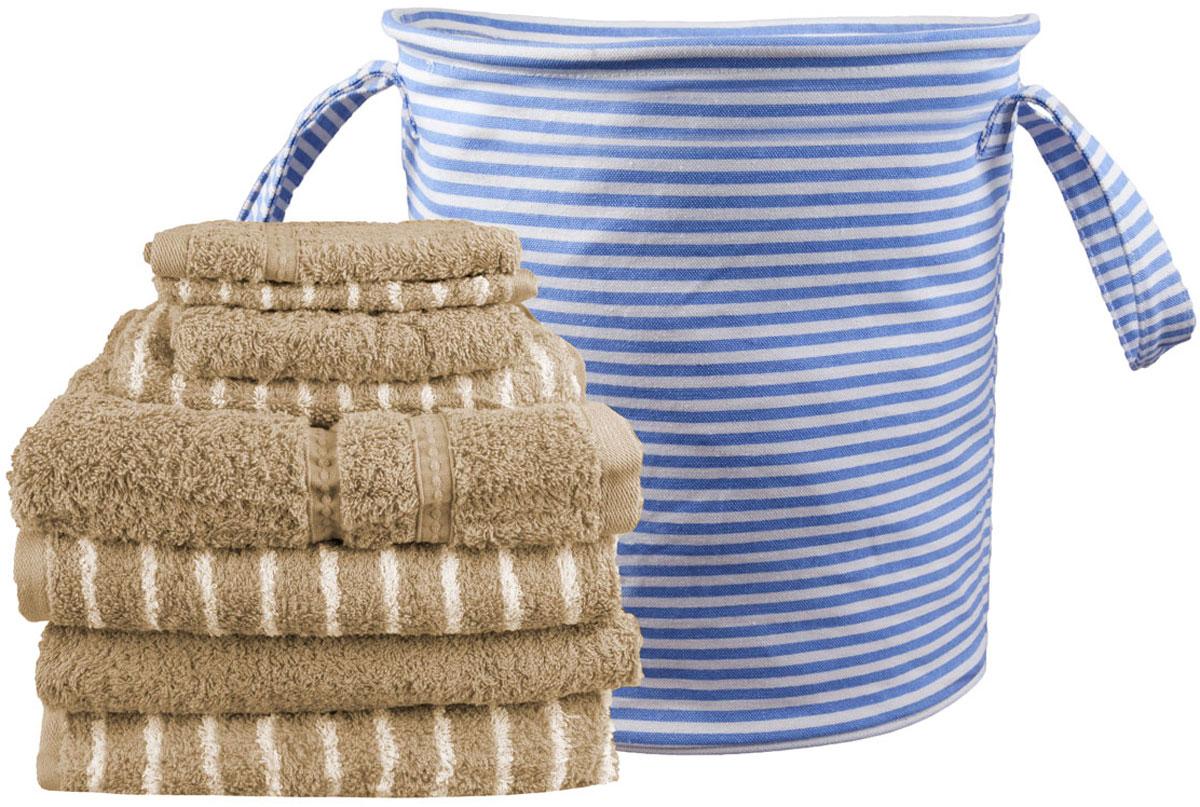 Набор полотенец Miolla, с сумкой, цвет: светло-коричневый, 9 предметовLFT-CS-SET-02Набор полотенец гармонично соединяет в себе наилучшие свойства современного махрового текстиля, и нежную эстетику, выраженную в оригинальных узорах. Безукоризненный по качеству, экологически чистый хлопок безупречно впитывает влагу. Он долговечен, не вызывает раздражения. Повседневное соприкосновение с нежными полотенцами, обладающими идеальными качествами, поднимет вам настроение, а созерцание невообразимо стильного узора наполнит вашу жизнь оптимизмом. Набор полотенец в сумке 68 х 130 - 4 шт, 40 х 60 - 2 шт, 33 х 33 - 2 шт.