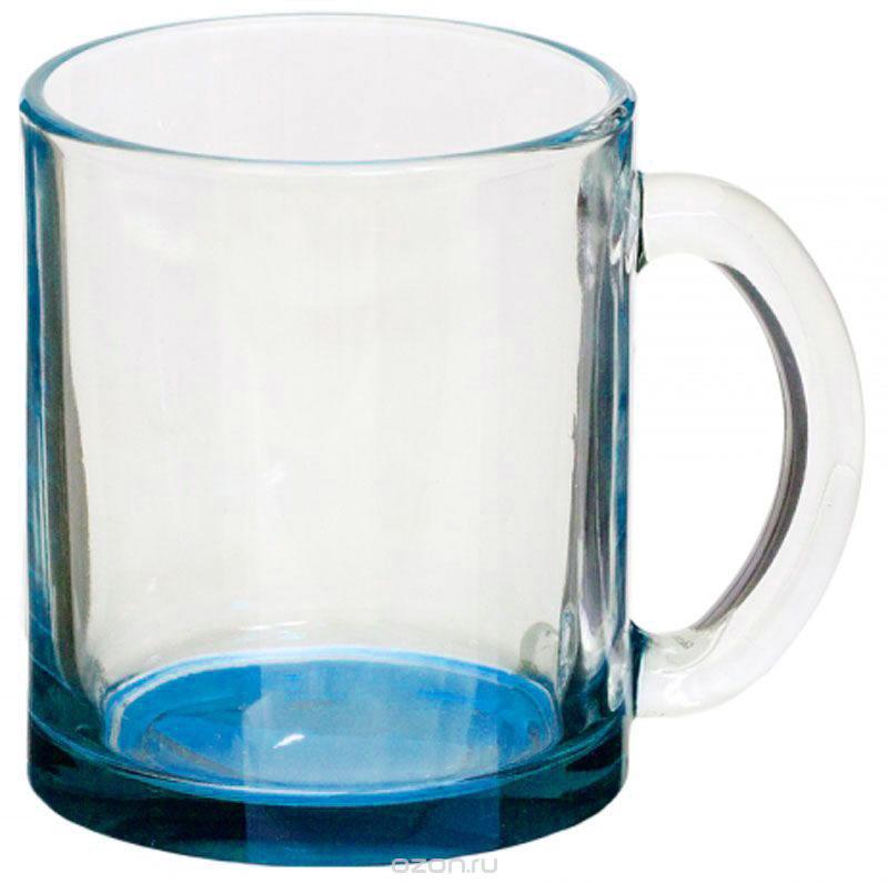 Кружка OSZ Чайная, цвет: синий, 320 мл115610Кружка OSZ Чайная изготовлена из прочного стекла. Изделие оснащено удобной ручкой и сочетает в себе лаконичный дизайн и функциональность. Изделие имеет цветное дно. Кружка прозрачная, но при ее наклоне создается оптическая иллюзия, что кружка цветная. Кружка OSZ Чайная не только украсит ваш кухонный стол, но подчеркнет прекрасный вкус хозяйки.