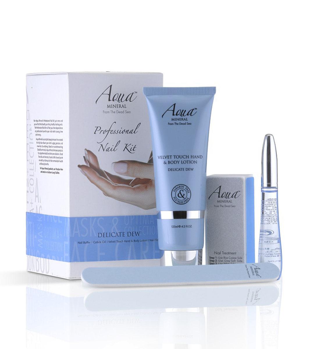 Aqua Mineral Набор для ухода за ногтями Нежная роса, маленький2529Впечатляющая комбо-упаковка, включающая в себя все, что требуется для основательного и качественного ухода за ногтями.
