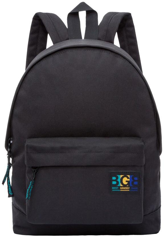 Рюкзак городской женский Grizzly, цвет: черный. RD-750-4/5RD-750-4/5Рюкзак молодежный, одно отделение, объемный карман на молнии на передней стенке, внутренний подвесной карман на молнии, укрепленная спинка, дополнительная ручка-петля, укрепленные лямки