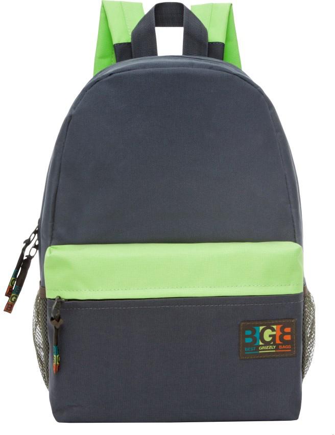 Рюкзак городской женский Grizzly, цвет: серый, салатовый. RD-750-5/4BP-001 BKРюкзак городской Grizzl выполнен из высококачественного нейлона в сочетании с полиэстером. Рюкзак имеет ручку-петлю для подвешивания и две удобные лямки, длина которых регулируется с помощью пряжек. Модель имеет одно основное отделение на молнии с внутренним карманом. Передняя сторона оформлена объемным карманом на застежке-молнии. Боковые стенки рюкзакавыполнены с карманами из сетки. Тыльная сторона рюкзака имеет карман быстрого доступа и укрепленную спинку.