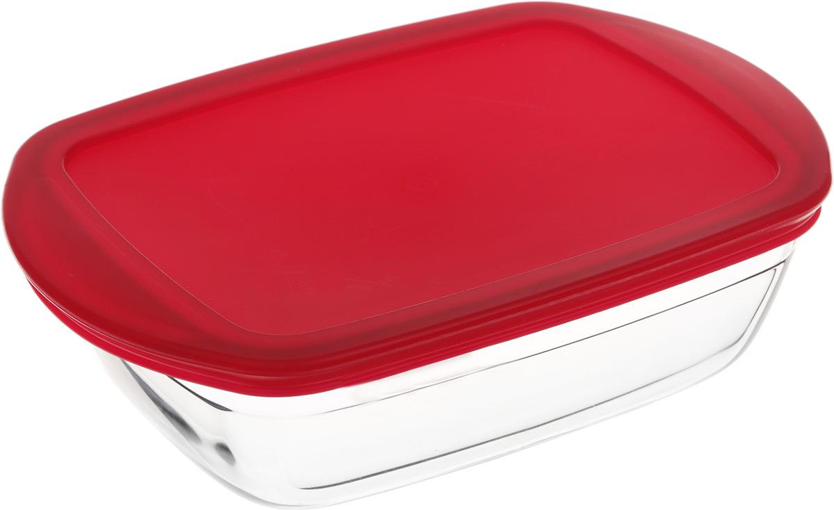 Форма для запекания Pyrex O Cuisine, прямоугольная, с крышкой, 23 х 15 см300194_сиреневый/грушаФорма Pyrex O Cuisine изготовлена из прозрачного жаропрочного стекла. Непористая поверхность исключает образование бактерий, великолепно моется. Изделие идеально подходит для приготовленияв духовом шкафу. Выдерживает перепад температур от -40°C до +300°C.Форма Pyrex O Cuisine подходит для использования в микроволновой печи, приготовления блюд в духовке, хранения пищи в холодильнике. Можно мыть в посудомоечной машине. Размер формы (по верхнему краю): 23 х 15 см.Высота формы: 6 см.