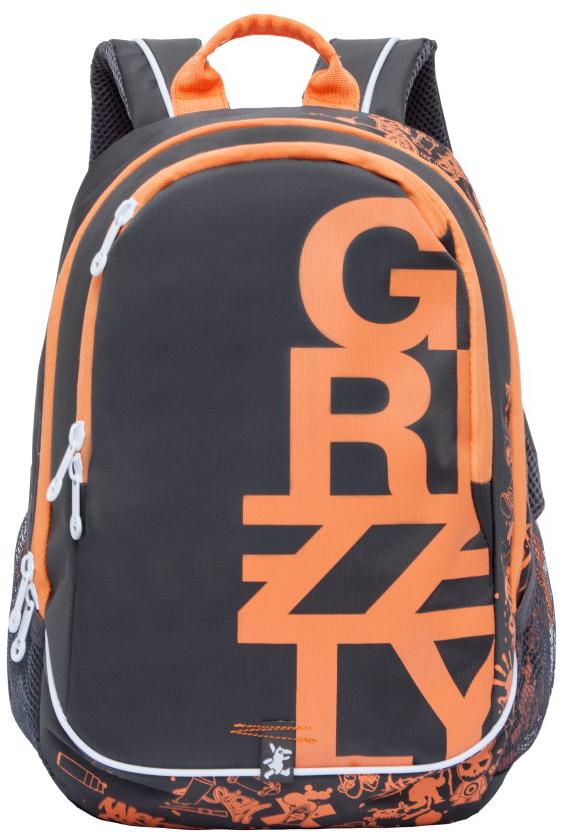 Рюкзак городской мужской Grizzly, цвет: серый. RU-724-1/1RU-724-1/1Рюкзак молодежный, два отделения, карман на молнии на передней стенке, боковые карманы из сетки, внутренний карман на молнии, внутренний карман-пенал для карандашей, внутренний подвесной карман на молнии, жесткая анатомическая спинка, дополнительная ручка-петля, укрепленные лямки