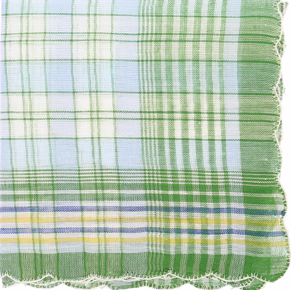 Платок носовой женский Zlata Korunka, цвет: зеленый. 45478. Размер 27 см х 27 см45478_зеленыйНосовой платок изготовлен из 100% хлопка, так как этот материал приятен в использовании, хорошо стирается, не садится, отлично впитывает влагу.