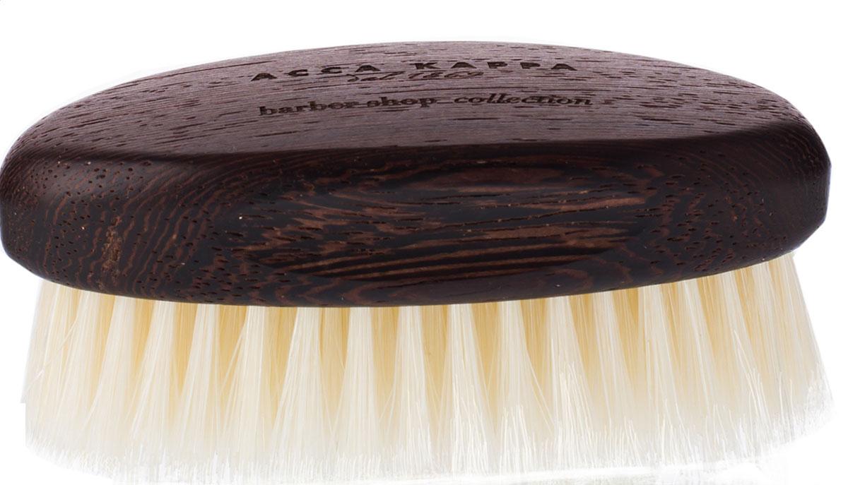 Acca Kappa Щетка для бороды с основой из дерева (белая)1512BWEЩетка для бороды с мягкой белой щетиной предназначена для короткой, отрастающей бороды и чувствительной кожи.