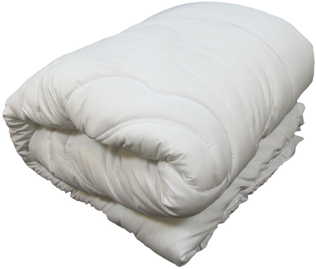 Одеяло Сорренто Лебяжий пух, всесезонное, цвет: белый, 172 х 205 см25741