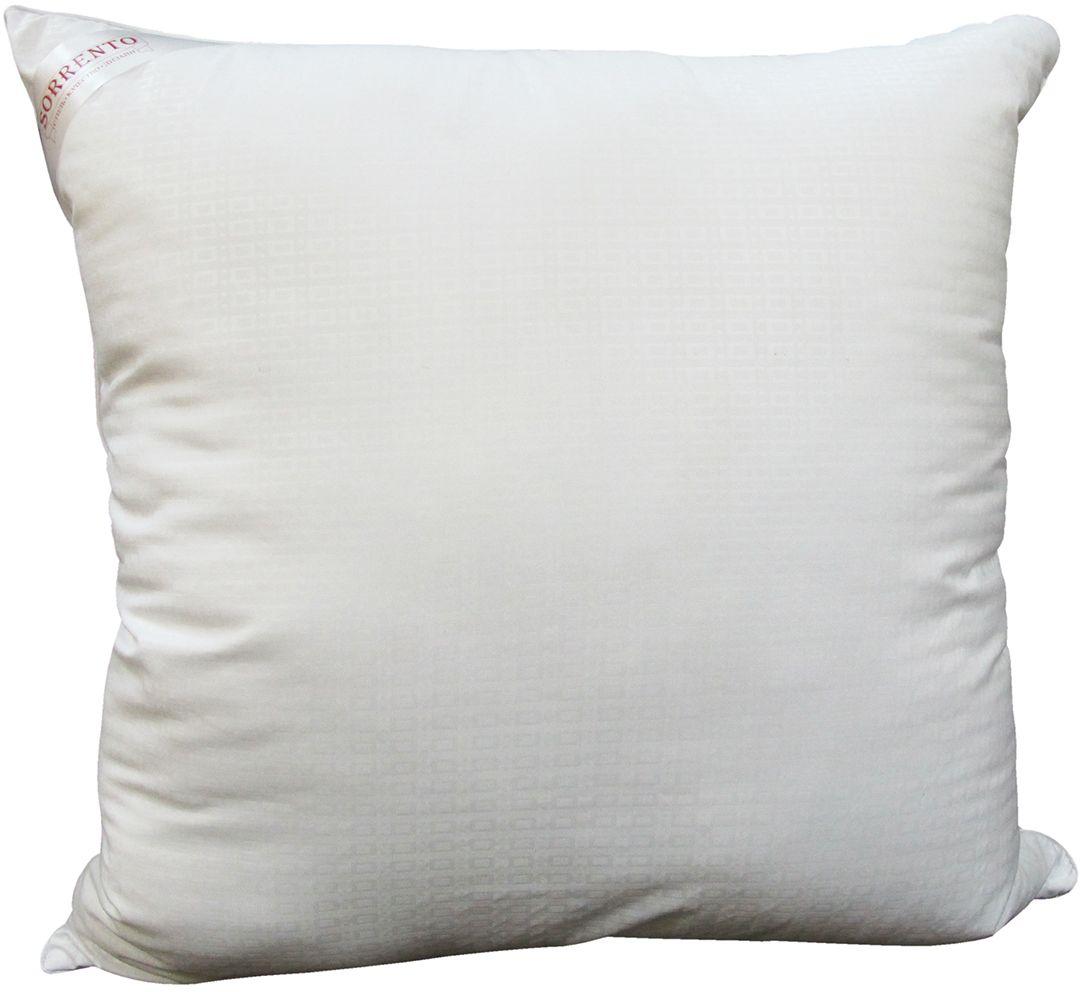 Подушка Сорренто Лебяжий пух, цвет: белый, 70 х 70 см25749