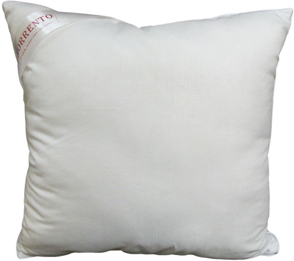 Подушка Сорренто Лебяжий пух, цвет: белый, 45 х 45 см27169