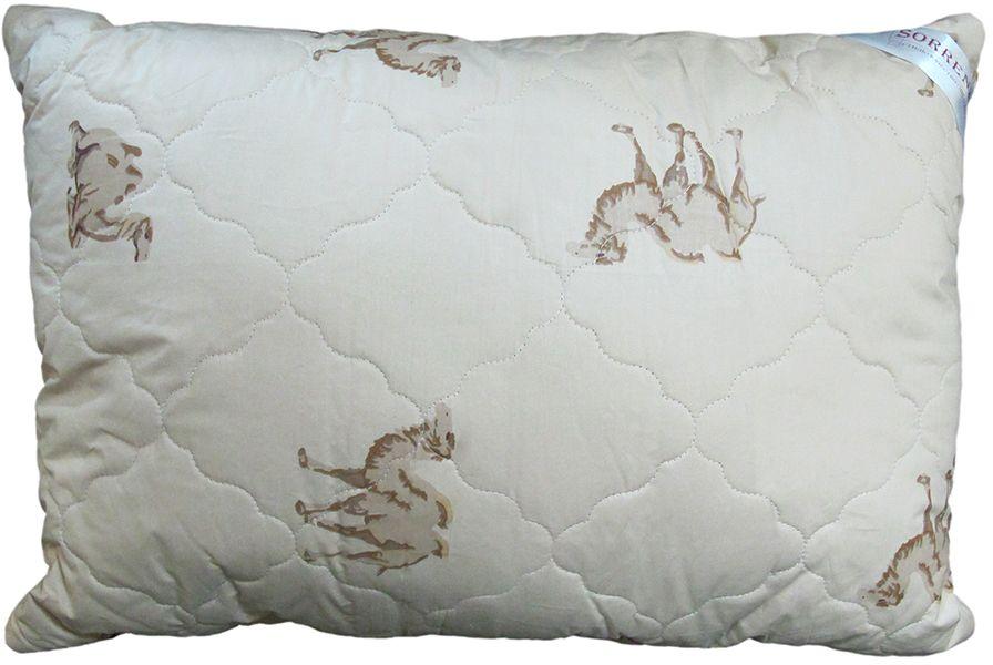 Подушка Сорренто Верблюд, цвет: бежевый, 50 х 70 смS03301004Подушка Сорренто Верблюд - мягкая и легкая подушка обеспечит вам здоровый и комфортный сон. Она отлично впитывают влагу, также без труда ее испаряет, а это значит, что в ней никогда не заведутся микробы и вредные бактерии. Подушка обеспечивает надежную поддержку шеи и головы. Кроме того, она постоянно поддерживает нужную температуру и дарит вам незабываемое чувство комфорта и умиротворения.УВАЖАЕМЫЕ КЛИЕНТЫ!Обращаем ваше внимание на возможные изменения в дизайне товара - расцветка и рисунок могут отличаться от изображения, представленного на сайте. Поставка осуществляется в зависимости от наличия на складе.