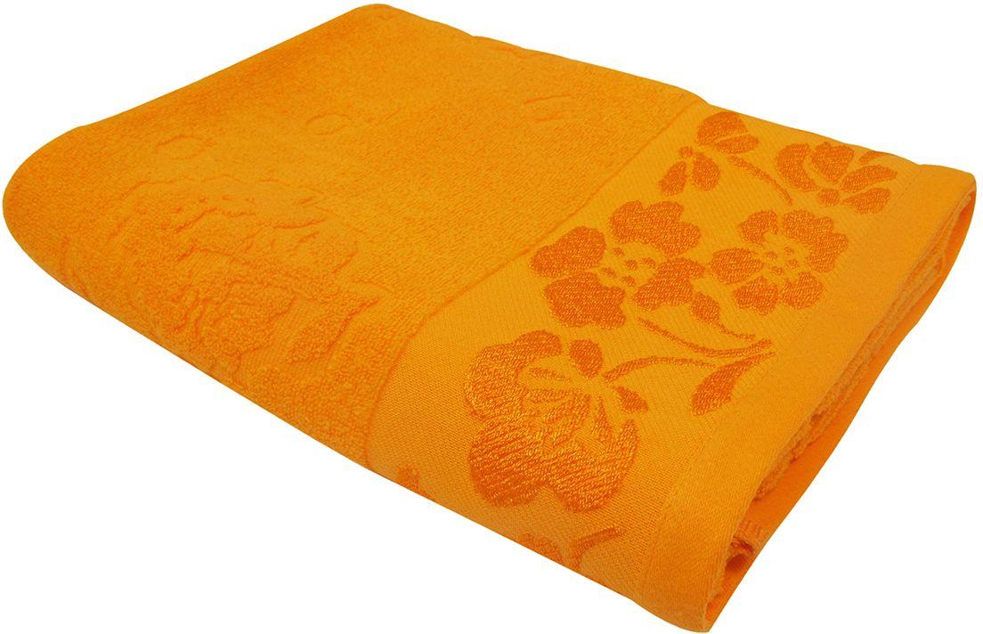 Полотенце махровое НВ Ромашка, цвет: красный, 70 х 130 см. м0177_1540704