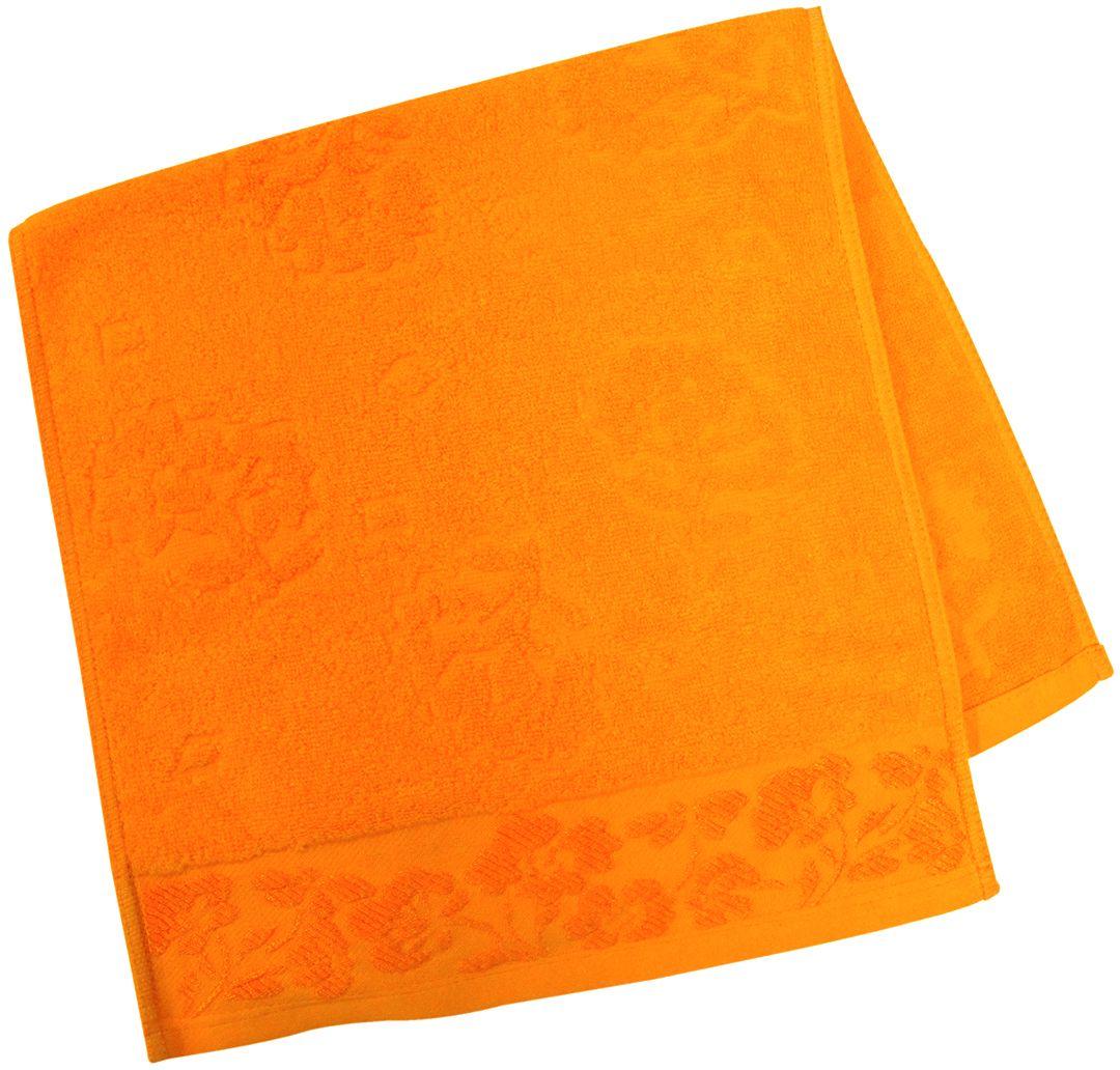 Полотенце махровое НВ Ромашка, цвет: красный, 33 х 70 см. м0177_1540708