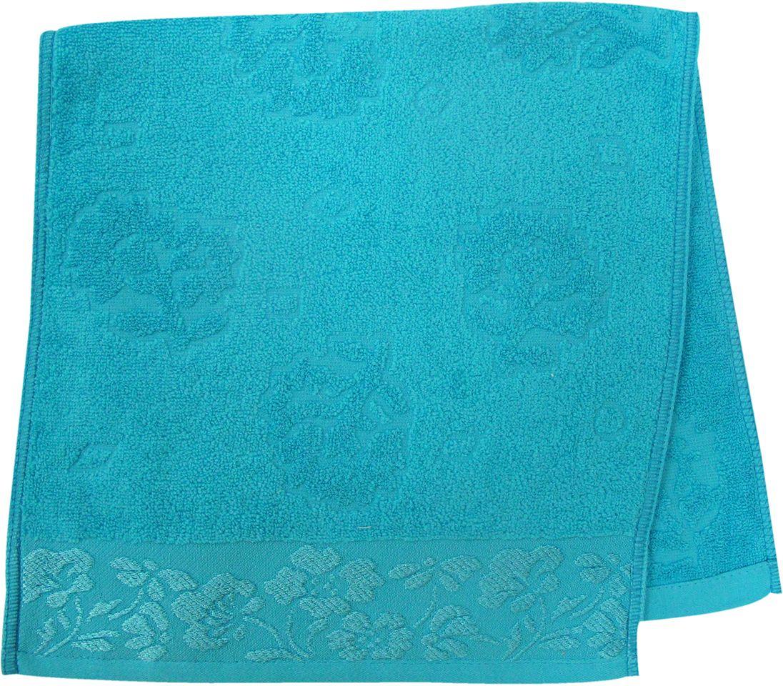 Полотенце махровое НВ Ромашка, цвет: синий, 33 х 70 см. м0177_0140710