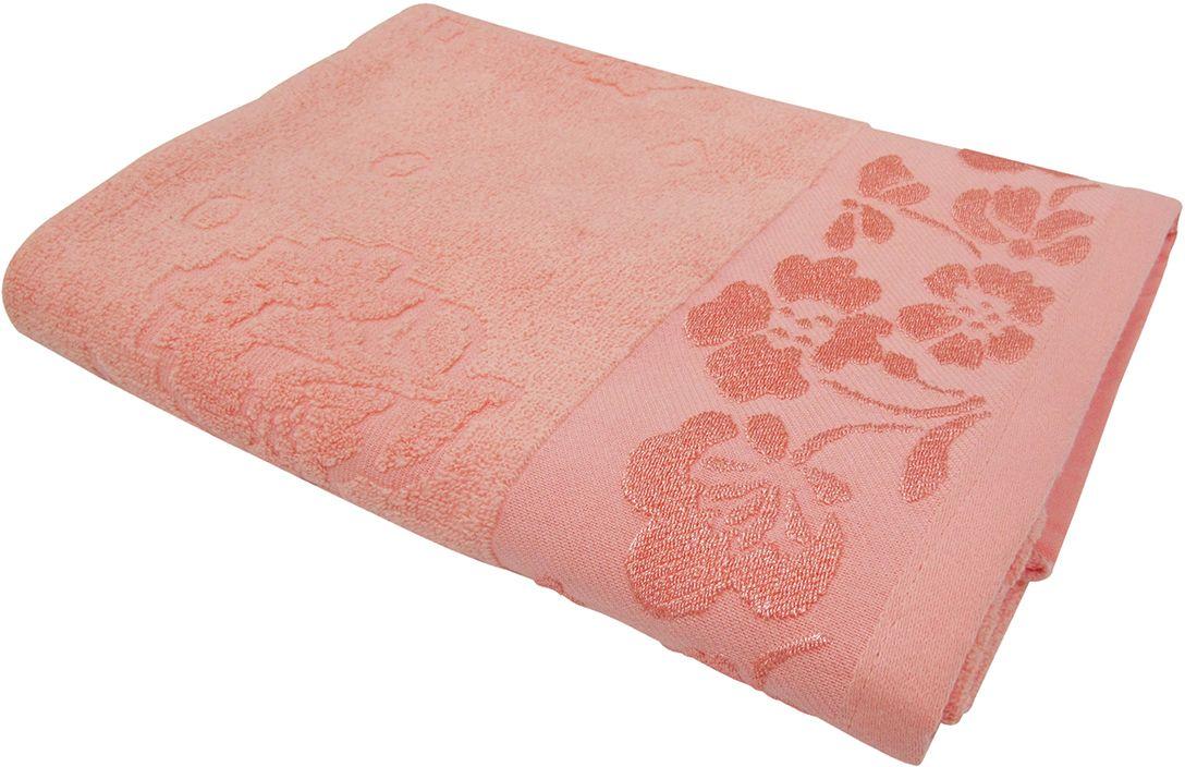 Полотенце махровое НВ Ромашка, цвет: розовый, 50 х 90 см. м0177_0240711