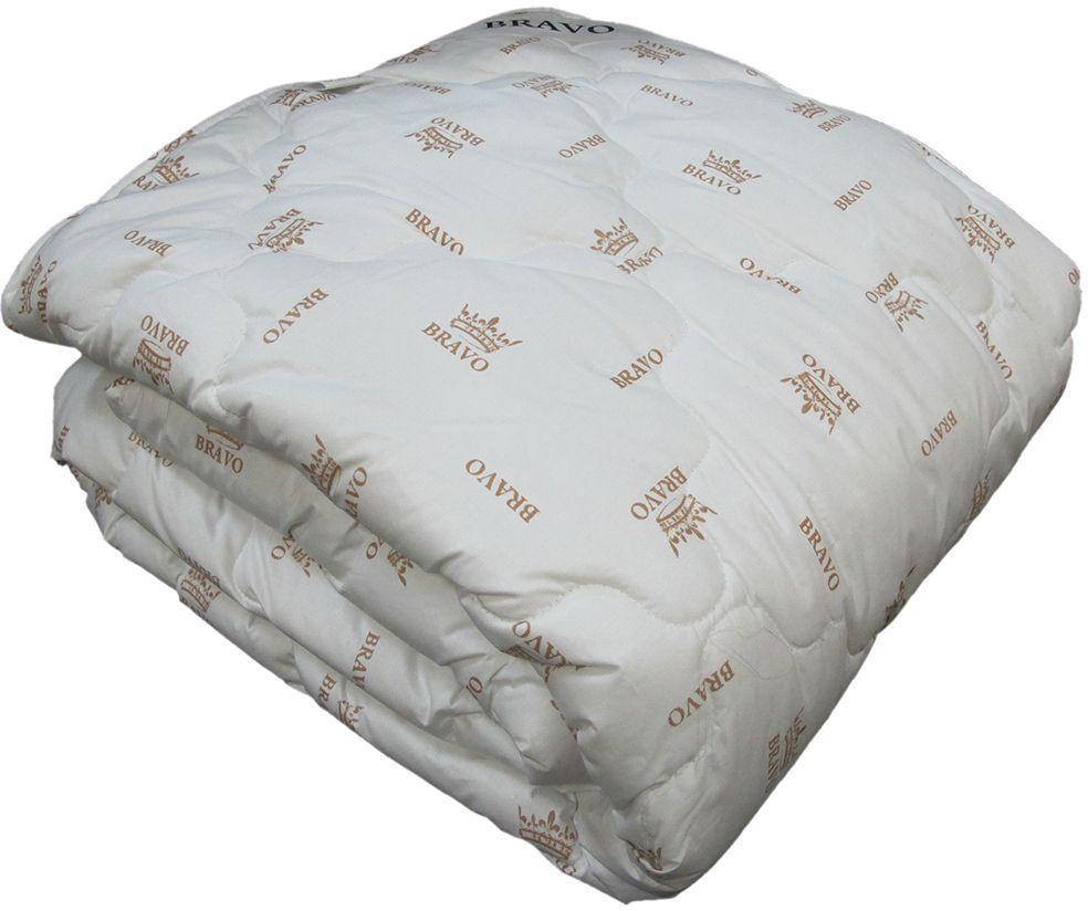 Одеяло Браво Козий пух, теплое, цвет: светло-бежевый, 172 х 205 см55239
