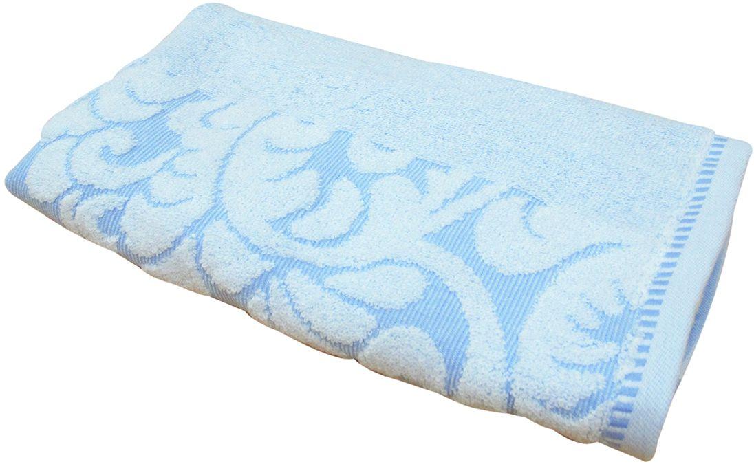 Полотенце махровое НВ Версаль, цвет: синий, 50 х 90 см. м0394_0155732