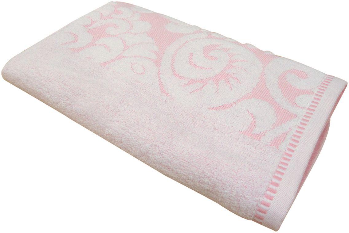 Полотенце махровое НВ Версаль, цвет: розовый, 50 х 90 см. м0394_0255735