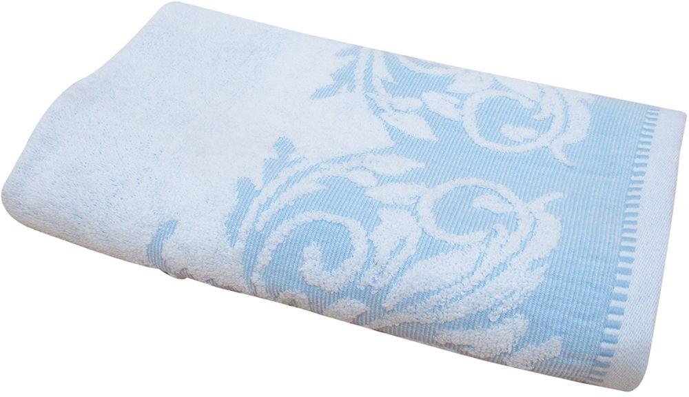 Полотенце махровое НВ Венеция, цвет: синий, 50 х 90 см. м0508_0166503