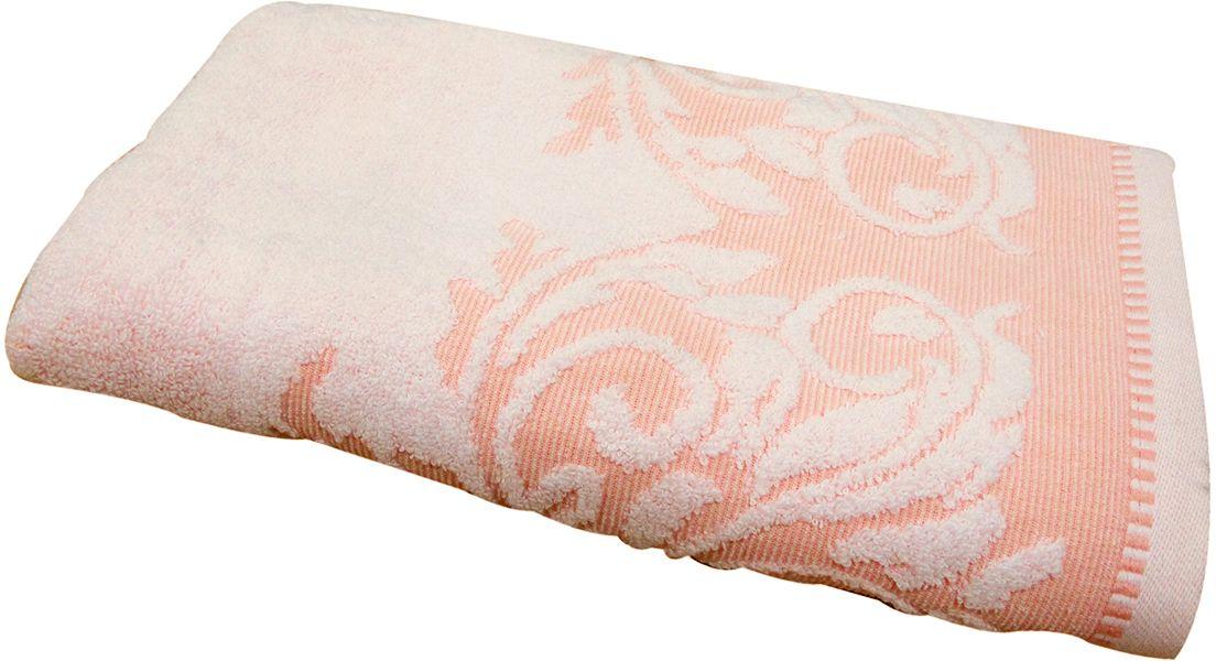 Полотенце махровое НВ Венеция, цвет: персиковый, 50 х 90 см. м0508_1266507