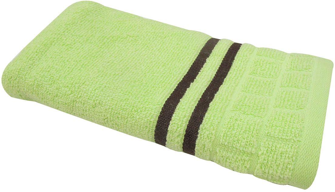 Полотенце махровое НВ Лана, цвет: зеленый, 33 х 70 см. м1009_0370756