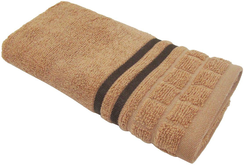 Полотенце махровое НВ Лана, цвет: коричневый, 33 х 70 см. м1009_0770764